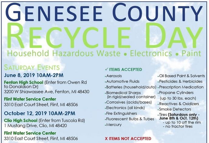 Genesee County Recycle Day