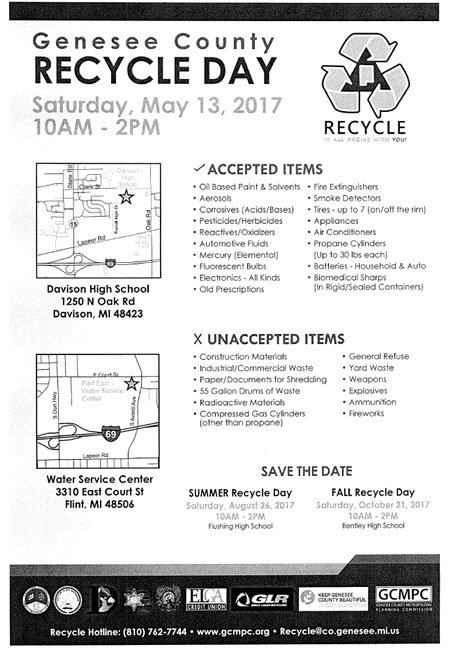 2017 gen co recycle day may13