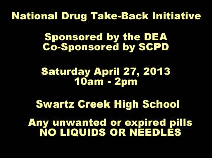 scpd drug take-back